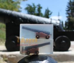 Мыло Пушка Корабельная 3D