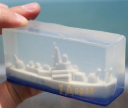 Мыло Ракетный Катер 3D
